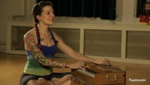 Jivamukti teacher Jessica Stickler