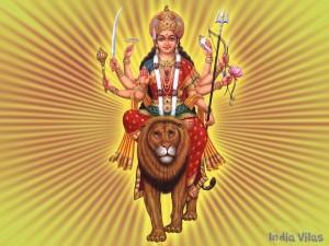 Fearless Goddess Durga